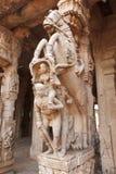 印度雕象寺庙 库存照片