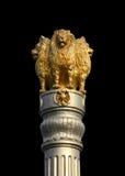 印度雕象象征在印度 库存照片