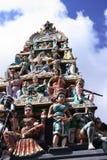 印度雕象 免版税库存照片