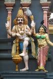 印度雕象 免版税图库摄影