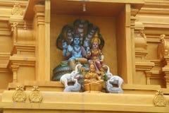 印度雕象 免版税库存图片