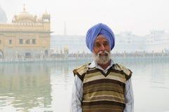 印度香客 库存照片
