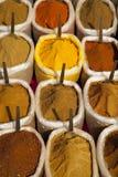 印度香料 免版税库存照片