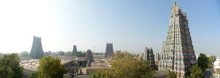 印度马杜赖meenakshi寺庙 免版税图库摄影