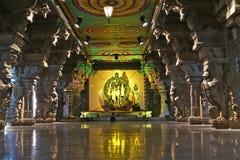印度马杜赖meenakshi nadu泰米尔人寺庙 库存图片