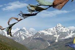印度,在喜马拉雅山的Buddhisim 库存照片