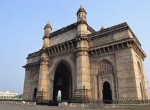 印度,孟买的网关 库存照片