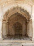 印度,德里红堡在阿格拉 图库摄影