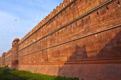 印度,德里,德里红堡,它是 库存照片