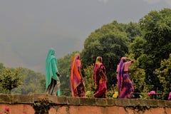 印度, hiduidst妇女 库存图片