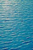 印度洋亮光星期日纹理水 免版税库存图片