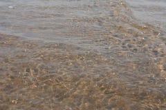 印度洋亮光星期日纹理水 图库摄影