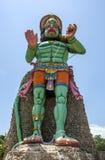 印度猴子神Hanuman的雕象在贾夫纳,斯里兰卡 免版税图库摄影