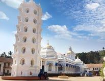 印度 goa 印度寺庙 库存照片