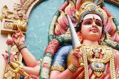 印度durga的女神 免版税库存照片