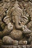 印度ganesh的神 图库摄影