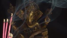 印度ganesha的神 股票视频