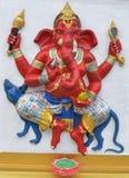 印度ganesha的神 库存图片