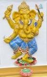印度ganesha的神 图库摄影