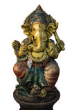 印度Ganesha雕塑 库存图片