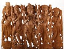 印度gods&goddesses 免版税库存图片