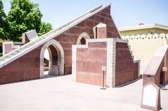 印度Jantar Mantar 图库摄影