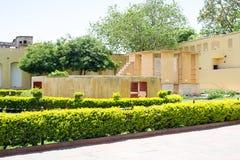 印度Jantar Mantar 库存图片