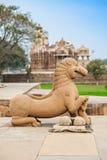印度kama khajuraho sutra寺庙寺庙 库存图片
