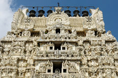 印度kamakshiamman寺庙 库存图片