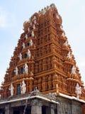 印度karnataka nanjanagoodu nanjundeshwara寺庙 免版税库存照片