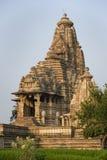 印度khajuraho 免版税库存照片
