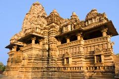 印度khajuraho 免版税图库摄影