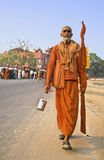 印度kumbh mela 免版税库存照片