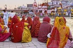 印度kumbh mela 免版税图库摄影
