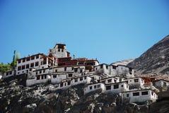 印度ladakh修道院 免版税库存照片