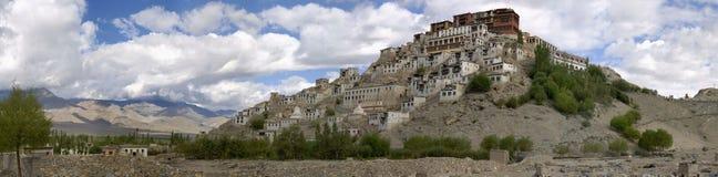 印度ladakh修道院thikse 库存图片
