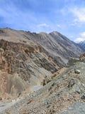 印度ladakh横向山 免版税库存照片