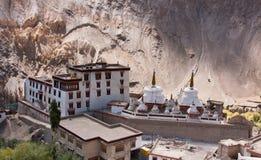 印度ladakh lamayuru修道院 库存照片