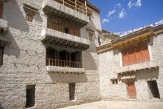 印度ladakh leh宫殿 免版税库存图片