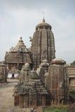 印度lingaraja寺庙 免版税库存图片