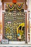 印度orcha妇女 库存照片