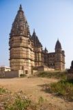 印度orcha宫殿s 免版税库存照片