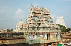 印度ranganathaswamy sri寺庙tiruchirapalli 免版税库存照片