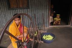 印度s村庄织工 图库摄影