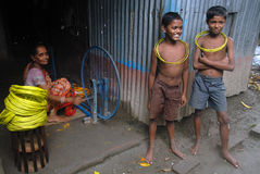 印度s村庄织工 免版税库存照片