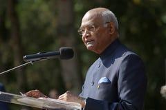 印度Shri Ram NathKovind的总统 免版税库存照片