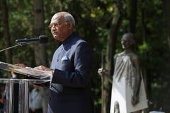 印度Shri Ram NathKovind的总统 库存照片