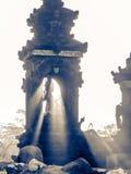 印度tempel在巴厘岛,印度尼西亚 库存图片