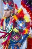 印第安一部族部落战俘Wow 图库摄影
