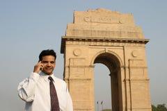 印第安人移动电话 免版税库存照片